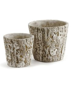 This Large Mill Creek Cachepot Set by Napa Home & Garden is perfect! #zulilyfinds