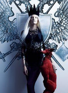 black crown princess warrior