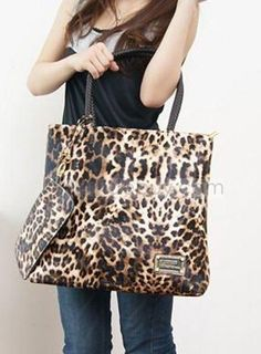 Orange Fox Glasses White PU Leather Printed Pattern Casual Handbags Shoulder Tote Bag Purse For Women Girls Vintage Tote Shopping Bags