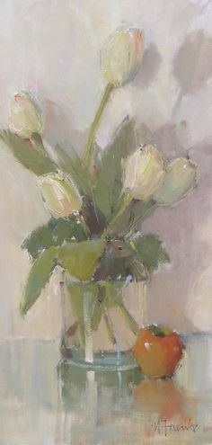 Simplicity by Nancy Franke Oil ~ 24 x 12