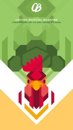 #flat_illustration Davide Mazzuchin #chicken #green 36f2f0fe7e3444a6107376753aca2af6.jpg (JPEG Image, 725×1300 pixels) - Scaled (60%)