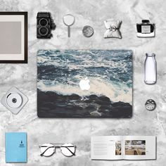 "Ocean macbook decal macbook skin macbook sticker Macbook Air 11, Macbook Air 13 & Mac Pro 13 Retina, Macbook 12"", Macbook Pro 15 Retina by idecalCrafts on Etsy"