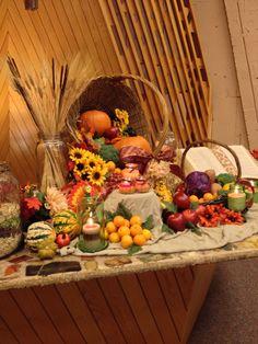 Harvest Altar Thanksgiving 2014