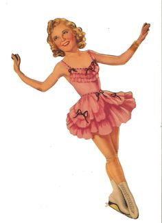 Ice skating star SONJA  HENIE published 1939 by Merrill 1 of 11