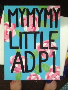 Adpi canvas for my diamond sister :)