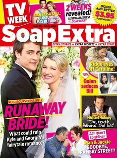 Kyle georgias wedding neighbours neighbours2014 neighbours feeling lucky to be featured in tv soap extra neighbours star saskia hampele altavistaventures Images
