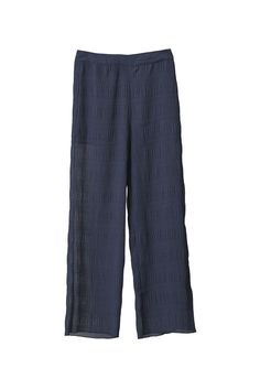 Hall Pleat Pants, Total Eclipse