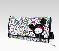 AMONNLISA × Hello Kitty Long Wallet case Purse Sanrio Japan limited