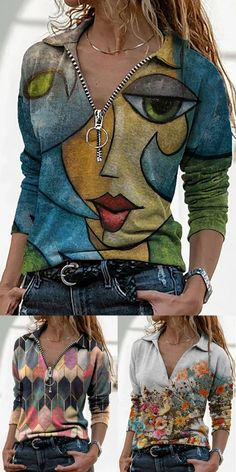 Boho Outfits, Casual Outfits, Cute Outfits, Fashion Outfits, Women's Fashion, Winter Coat, Fall Winter, Funky Fashion, Affordable Clothes