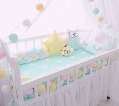 Baby Girl Nursery Themes, Baby Nursery Furniture, Baby Girl Bedding, Nursery Room Decor, Childrens Room Decor, Baby Bedroom, Girls Bedroom, Nursery Ideas, Girl Cribs
