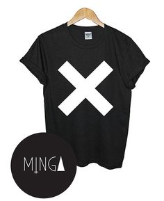 CROSS t shirt top retro hipster swag dope yolo vtg by MINGAlondon