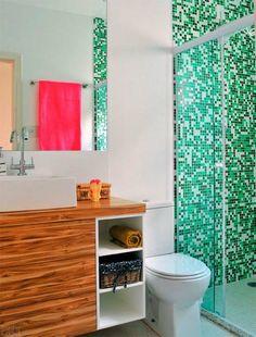 Mozaik pločice u kupatilu