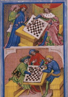 Tractatus de ludo scacorum (The Play of Chess), Bohemia, 1430-40 (BNE, Madrid…