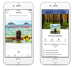Facebook lance les photos de profil temporaires sur mobile