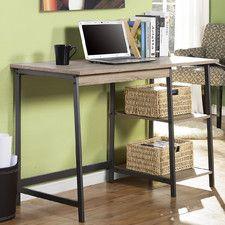 2 Piece Laptop Desk and Bookcase Set