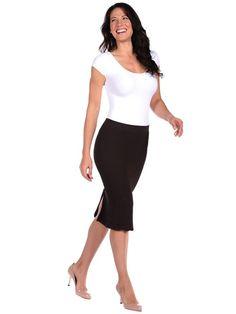 $79 Chevron Skirt via boutiika.com