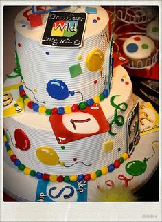 UNO 1st Birthday Cake