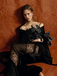 Romantismo chic clicado por Ben Toms – Fragmentos de Moda