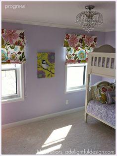 Pretty Purple room