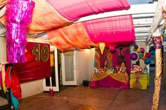 Back Patio turned in to a Bollywood Party! #40th Birthday #MissPartyMom
