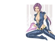 HD Wallpaper And Background Photos Of Psylocke For Fans X Men Images