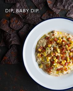 Mexican street corn inspires an eclectic party dip.