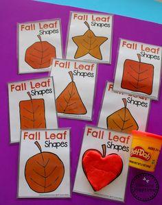 Fall Preschool Unit - Planning Playtime