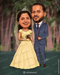 Pentecostal wedding, christian wedding caricature, Custom Caricatures illustration from photos, Save the date, Indian caricature, Caricature Wedding Gifts, Caricature Invite, guests sign in board, India Wedding, Kerala wedding, nitisebanart Pentecostal Wedding, Wedding Caricature, India Wedding, Customized Gifts, Wedding Gifts, Disney Characters, Fictional Characters, Christian, Photo And Video