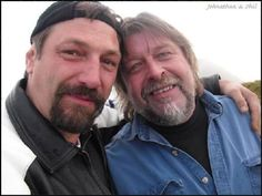 Captain Johnathan Hillstrand and (the late) Captain Phil Harris, from Deadliest Catch