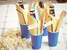 Summer picnic ideas - Skewer recipes and DIY decorations
