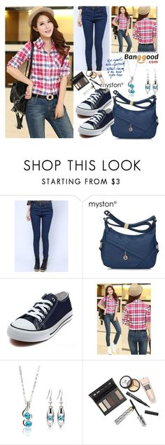 """""""1#Banggood"""" by fatimka-becirovic ❤ liked on Polyvore featuring Myston and Borghese"""