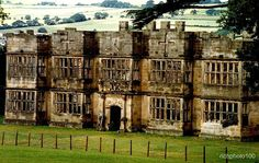 Gibside Old Hall | The Old Hall Ruin at Gibside, North East England,