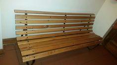 Restored Oregon Pine Garden Bench