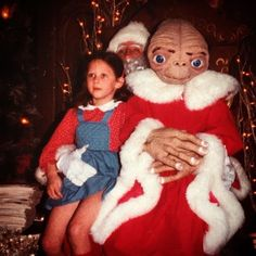 Post a photo with you and creepy Santa and you could win $500! Click to enter!