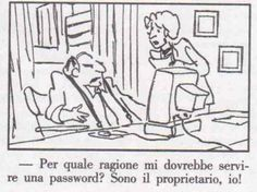 Password e padrone