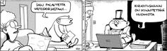 Fingerpori - HS 9.4.2013 Peanuts Comics, Fun, Smile, Fin Fun, Smiling Faces, Lol, Funny, Hilarious, Laughing