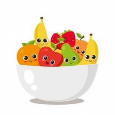 Find Fruit Platter Cute Fruits Vector Illustration stock images in HD and millions of other royalty-free stock photos, illustrations and vectors in the Shutterstock collection. Fruit Clipart, Fruit Vector, Cute Fruit, Cute Food, Navratri Recipes, Food Cartoon, Fruit Cartoon, Fruit Illustration, Strawberry Fruit