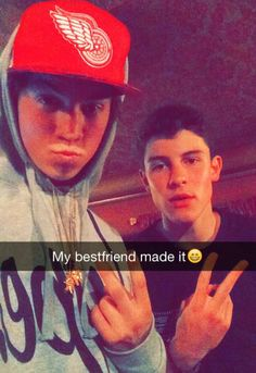 hey guys! im shawn! and this is taylor! were best friends intro? oh i have a sister. more of our best friends are all the magcon guys duh!