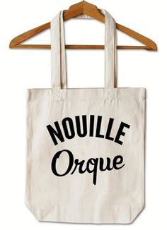 "Tote Bag ""Nouille Orque"""