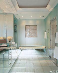 art deco bathroom by lalique