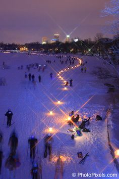 and this #luminaryloppet