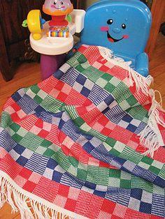Hopscotch Blocks Baby Blanket $34.75