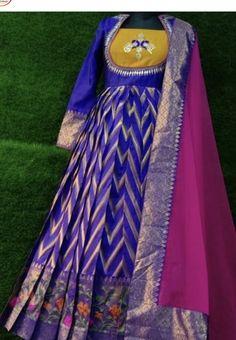 Simple Anarkali, Kurti, Saree, Dresses, Design, Fashion, Sari, Gowns, Moda