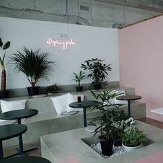 Retail Interior Design, Bar Interior, Interior Garden, Contemporary Interior Design, Apartment Interior, Cafe Bar, Cafe Restaurant, Restaurant Design, Cafe Pictures
