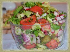 Domowa kuchnia Aniki: Wiosenna sałatka do obiadu