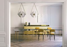 A Merry Mishap: Using yellow in interiors
