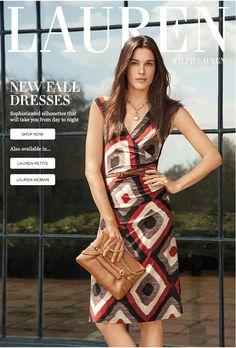 New Fall Dresses From Lauren
