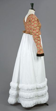 Spencer jacket or bodice with empire gown