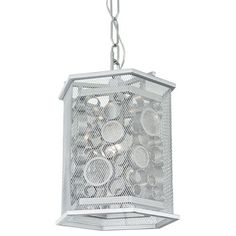 Fascination Metallic Silver One Light pendant