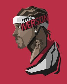 Request for the NBA fans Allen Iverson #popheadshots @theofficialai3